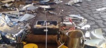 Amostragem de água subterrânea em poços de monitoramento