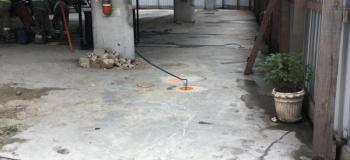 Barreira hidraulica remediação